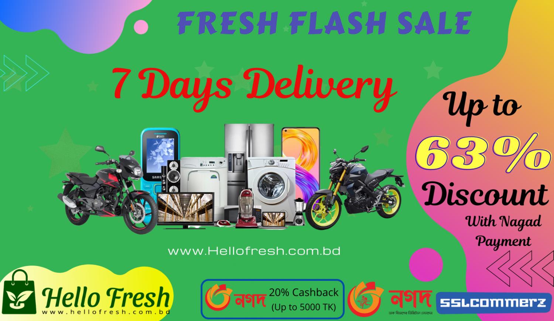 HelloFresh.com.bd Online Shop in Bangladesh promo